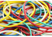 Produzione elastici in gomma, commercializzazione elastici in para naturale